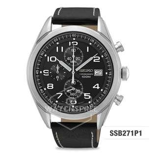 FREE DELIVERY *SEIKO GENUINE* SSB271P1 100% Authentic with 1 Year Warranty!