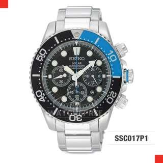 FREE DELIVERY *SEIKO GENUINE* SSC017P1 100% Authentic with 1 Year Warranty!