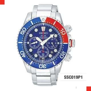 FREE DELIVERY *SEIKO GENUINE* SSC019P1 100% Authentic with 1 Year Warranty!