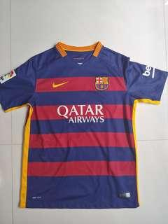 Authentic 2015/2016 Barcelona Home Jersey!
