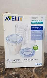Avent storage cup