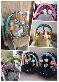 🚚 🌟PM for price🌟 🍀Hot Sale Stroller Car Seat Cot Hanging Toy🍀