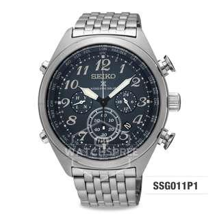 FREE DELIVERY *SEIKO GENUINE* SSG011P1 100% Authentic with 1 Year Warranty!