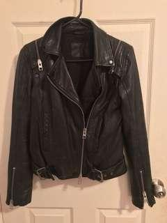 Allsaints leather jacket/vest