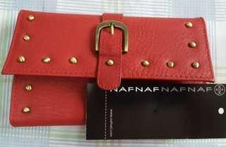 Nafnaf red wallet