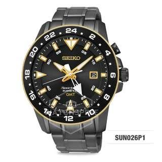 FREE DELIVERY *SEIKO GENUINE* SUN026P1 100% Authentic with 1 Year Warranty!