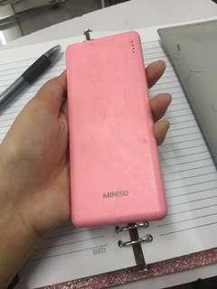 Powerbank miniso 5000 MAH