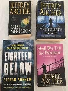 Four exciting books for one low price