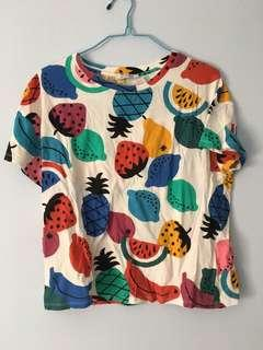 Zara fruit T shirt