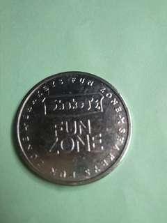 Vintage token, Shakeys Funzone amusement