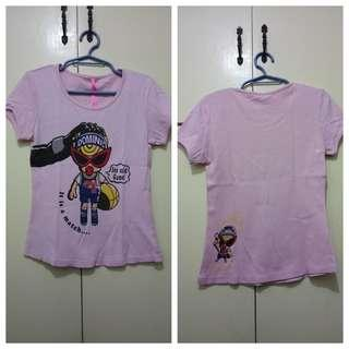 GA112 Pink Shirt for Girls Age 10 to 12 - see pics for Measurements