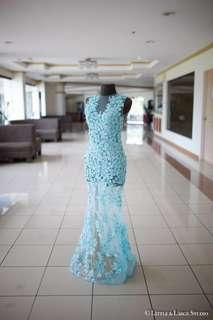 Prom/Debut Evening Gown FOR RENT