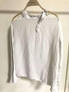 🚚 雪紡造型襯衫