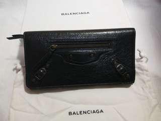 🚚 巴黎世家 Balenciaga 黑色經典長夾