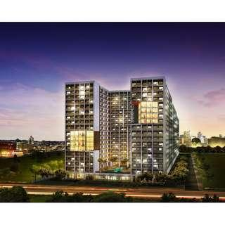 Shore 2 Residences 1 Bedroom End Unit with Balcony walking distance to Mall of Asia Complex Pasay City