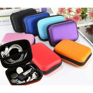 Hard Case for Earphones, usb cables etc.