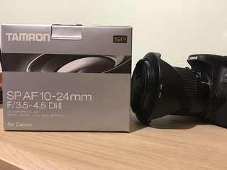 🚚 Tamron sp 10-24mm B001E for canon