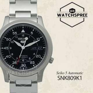 FREE DELIVERY *SEIKO GENUINE* SNK809K1 100% Authentic with 1 Year Warranty!