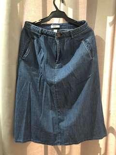 Forever 21 demin skirt