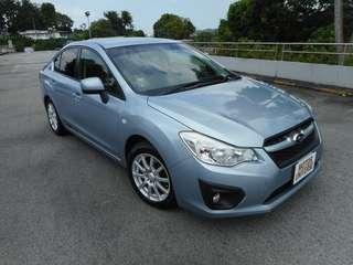 Cheapest Long Term Rental Subaru Impreza 1.6I