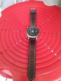 Man watch second hand
