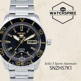 FREE DELIVERY *SEIKO GENUINE* SNZH57K1 100% Authentic with 1 Year Warranty!