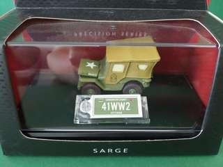 迪士尼 反斗車王 Disney Pixar Cars Precision Series Sarge 1:55 Diecast car
