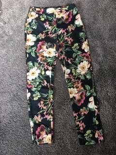 Floral portmans pants