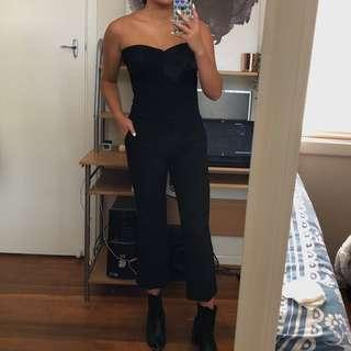 ZARA Black Flare Fitted Pants
