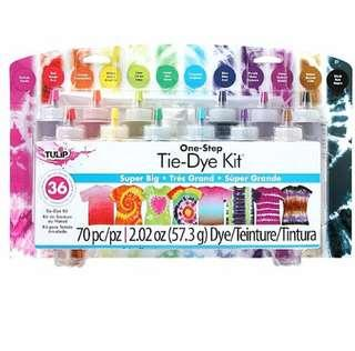 Instock: Tulip One-Step 12-Color Tie-Dye Kit (Super Big)