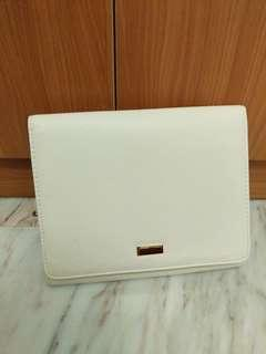 Forever 21 cream white clutches