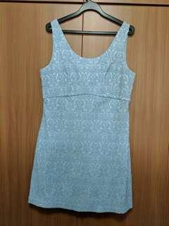 Love bonito structure baby blue dress
