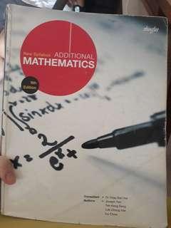 Additional Mathematics Textbook