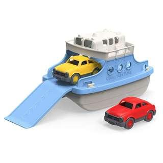 Green Toys Ferry Boat with Mini Cars (Blue/White)