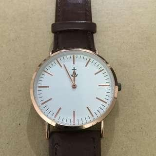 Andre Brown Strap Watch