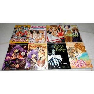 [VARIOUS SHOUJO MANGA][READY STOCK] 2 MANGA FOR RM10 - PRICE NOT INCLUDE POSTAGE YET.
