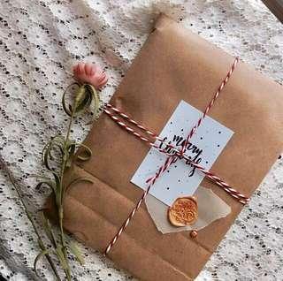 🚚 Christmas gift (customised notebooks) #Next30
