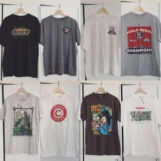 $9 GRAPHIC TEES - S to XL