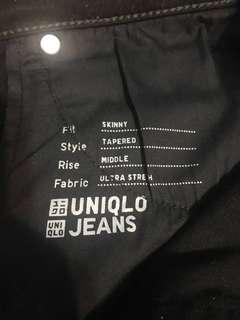 🚚 uniqlo 彈性長褲