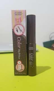 Etude brow mascara #1rich brown