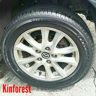 Tyre- Kinforest. Mazda 3 🙋‍♂️ R16 sizes from $80