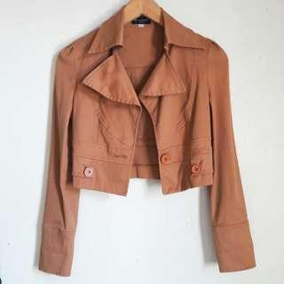 Nice Claup brown jacket