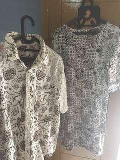 Batik coupel