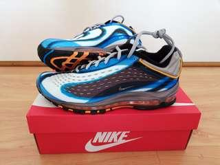 Nike Air Max Deluxe - UK 9 with (Blue, Grey, Orange & Black) colore