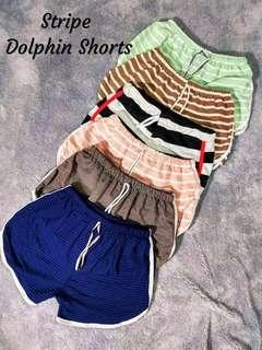 Stripes Dolphin Shorts