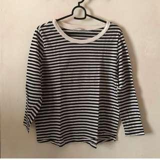 ZARA Organic Cotton Stripes shirt