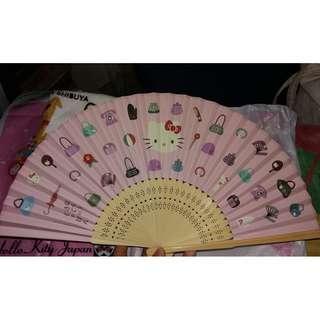 Hello Kitty Novelty Folding Fan (ORIGINAL)