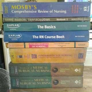 Nursing books bundle