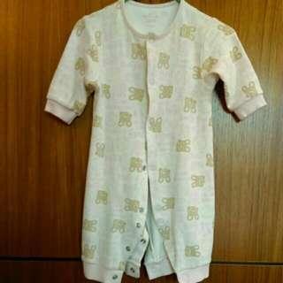 3-6M女寶寶長袖兔裝