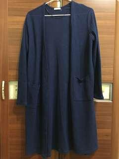 🚚 GU長版罩衫